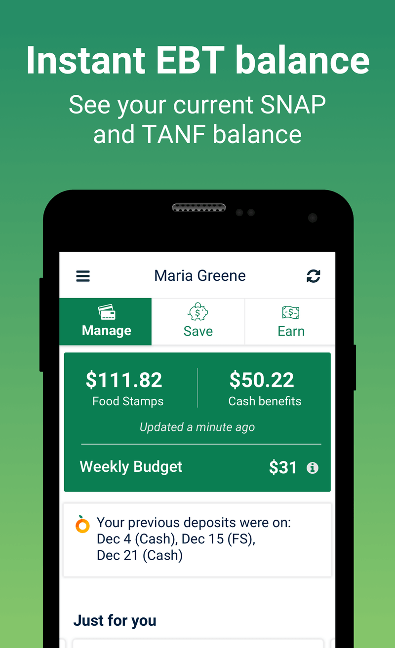 Fresh Ebt Food Stamp Balance App For Android And Iphone